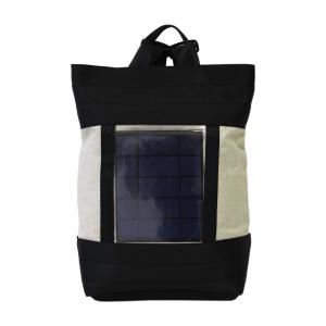 Zaino in cinture di sicurezza con pannello solare