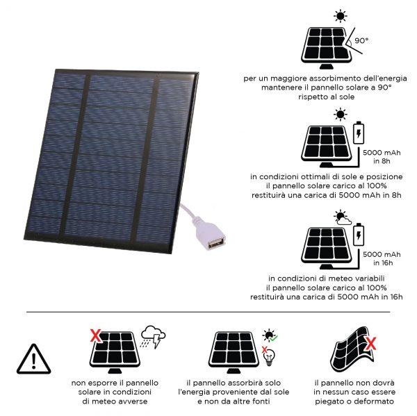 caratteristiche pannello solare_
