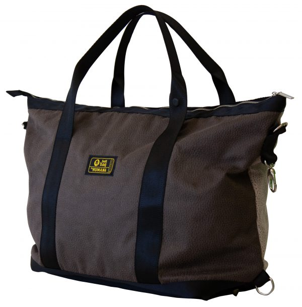 Smart-Borsone-similpelle-bicolor-marrone-beige-34